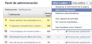Segmentación publicaciones Facebook