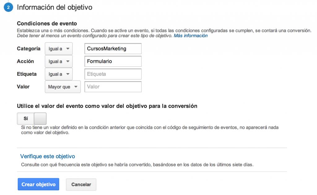 Trackevent para wordpress