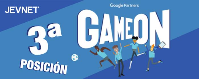 JEVNET vuelve a encabezar el reto GameOn de Google