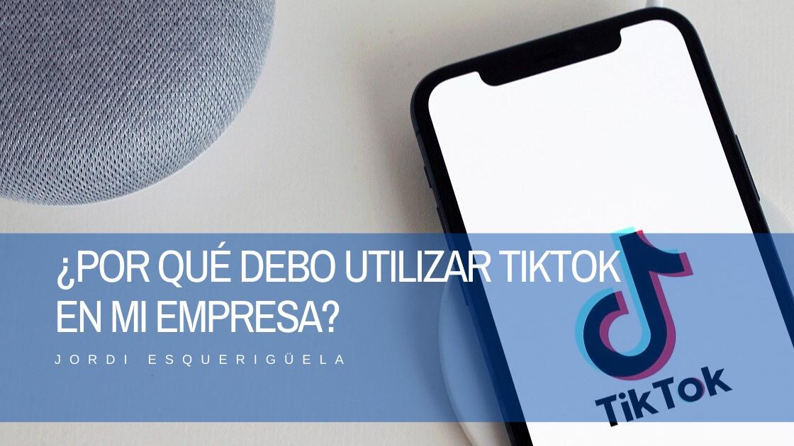 Utilizar TikTok en mi empresa